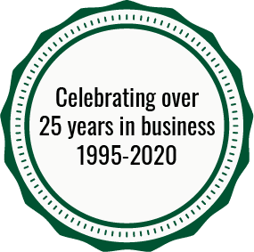 Celebrating over 25 years in business